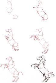 horses drawings in pencil step by step. Brilliant Horses With Horses Drawings In Pencil Step By L