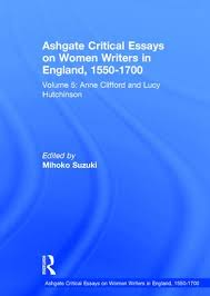 ashgate critical essays on women writers in england  ashgate critical essays on women writers in england 1550 1700