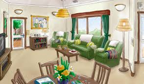How Colour Throws Light On Design In Dementia Care Living Room Dementia Enabling Environments Alzheimers Wa