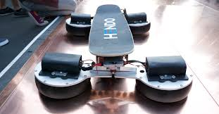 Real Working Hoverboard Arx Pax Demos Its New Steerable Mag Lev Hoverboard Techcrunch