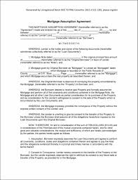 Mortgage Document Template Sample Mortgage Document mortgage loan agreement template Agreement 1