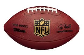 picture of nfl the duke official leather football manufacturer wilson