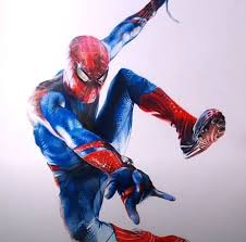 to draw spiderman step by step full body