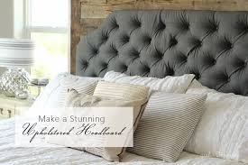 Stunning How To Make Your Own Headboard With Fabric 80 In Diy Upholstered  Headboard with How