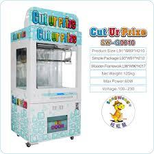 Cut Ur Prize Vending Machine Enchanting 48 Hot Sale Indoor Amusment Cut UR Prize Slot Machine Toys Vending