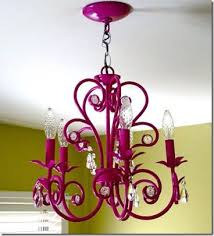 chandelier makeover spray paint vickie howell
