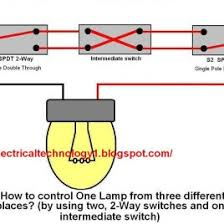 electrical way switch wiring diagram electrical wiring solutions electrical 3 way switch wiring diagram acircmiddot way switch how to control one lamp from three different places