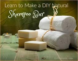 homemade shampoo bar diy