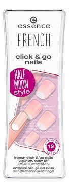 Купить <b>накладные ногти на клейкой</b> основе french manicure click ...