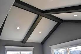 amazing faux wood beams design ideas
