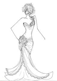 fashion design coloring pages