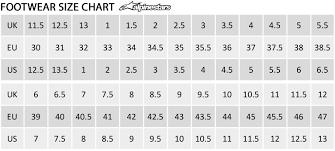 Alpinestar Tech 3 Size Chart Alpinestars Tech 1 K Start Black White Size Uk10 Eu44