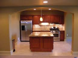 Basement Kitchens Sleek Basement Kitchen Ideas Small With Finished B 1024x768
