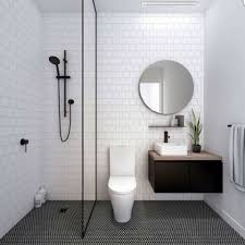 Remarkable Small Bathroom Black And White Tiles 28 For Your Simple Design  Room with Small Bathroom Black And White Tiles