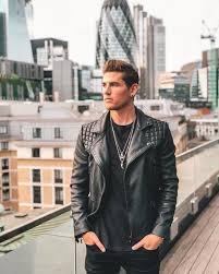 finnerz uk conroy leather biker jacket