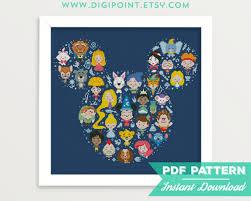 Free Disney Cross Stitch Charts 10 Disney Inspired Cross Stitch Patterns
