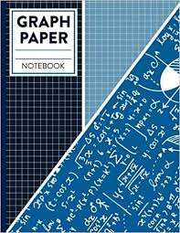 Graph Paper Notebook Quad Ruled Blank 4x4 Square Large 8 5 X 11
