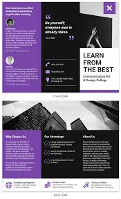 25 Trifold Brochure Examples To Inspire Your Design Venngage Gallery
