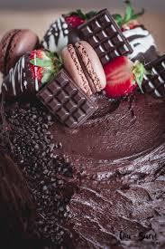 Decadent Chocolate Strawberry Cake And Happy Birthday To Me