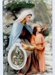 Prière pour obtenir une grâce spéciale par l'intercession de Sainte Anne |  Priere, Priere chretienne, Priere pour l amour