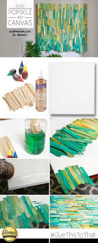 diys to do when your bored make this cool diy popsicle art using dyed popsicle