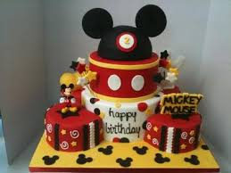 8 Mickey Mouse Birthday Cakes For 2 Years Olds Photo Mickey Mouse