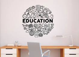 education wall decal vinyl sticker