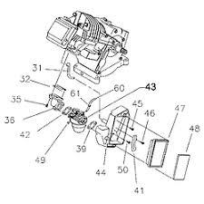 generac 7 8 hp engine parts model ehc00952 sears partsdirect dellorto carb