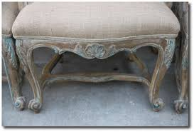 french distressed furniture. french painted u0026 bulap dining chairs rachel ashwell white decorating shabby chic distressed furniture e