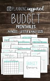 Free Printable 2017 Planner Inserts | Budgeting, Planners And ...