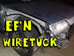 diy ef wire tuck quickie youtube 1990 Crx Si Fuse Box Wiring 1990 Crx Si Fuse Box Wiring #63 1991 CRX Si