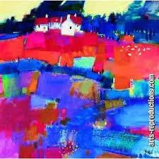 Tableau art déco CIabstractab73 tableau Tableaux Paysages Arts ...