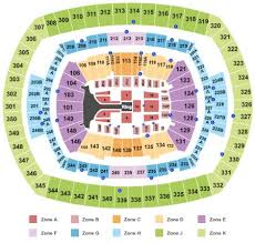 Metlife Seating Chart One Direction 48 Unexpected New Meadowlands Concert Seating Chart