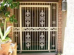 full image for printable coloring security front door gate 106 gates perth ideas home design home security gates r59