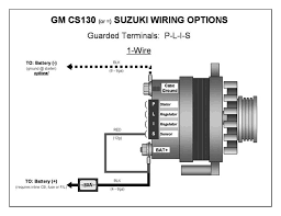 cs130d wiring diagram cs130d alternator conversion \u2022 wiring alternator connector melted at Alternator Wiring Harness