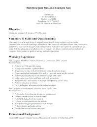 design resume example web designer resume example industrial design resume examples front