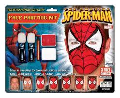 spiderman makeup kit wolfe bro costumes