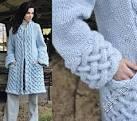 Красивые пальто связать спицами