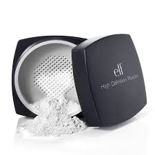 e l f studio high definition powder for professional makeup artists 6 00 this stuff is amazing for taking away that shine you sometimes get when your
