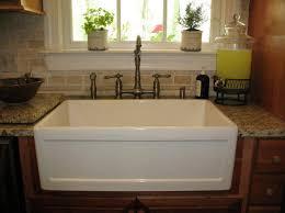 White Enamel Kitchen Sinks Beauty White Porcelain Kitchen Sink Design Ideas Decors