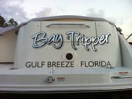 Bay Tripper Black metallic silver and hammered silver leaf main text