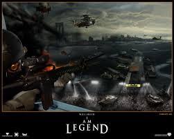 i am legend movie world