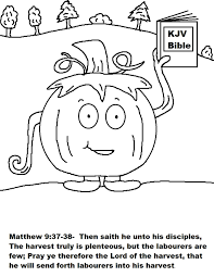 Halloween Coloring Pages For Church Inside Christian - glum.me