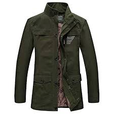 Ennglun Jacket Mens Coats Mens Overcoat For Mens Winter Military Pocket Tactical Thickened Cashmere Coat Outdoor Coat