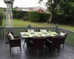 seater rattan garden dining set