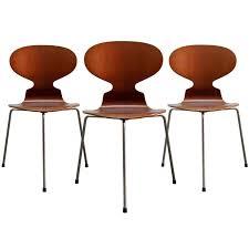 arne jacobsen furniture. trio of arne jacobsen ant chairs 1 furniture n