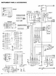 chevy diagrams 1984 Corvette Headlight Wiring 1984 cadillac deville instrument panel and accessories wiring diagram drawing a 1984 Corvette Headlight Conversion