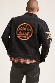 def leppard denim jacket