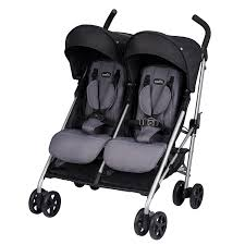 amazoncom  evenflo minno twin double stroller glenbarr grey  baby