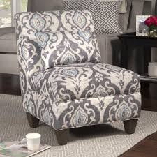 ikat accent chair. Brilliant Accent HomePop Large Accent Chair  Armless Throughout Ikat L